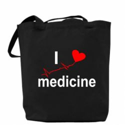 Сумка I love medicine - FatLine
