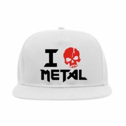 Снепбек I love metal - FatLine