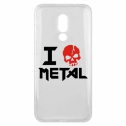 Чехол для Meizu 16x I love metal - FatLine