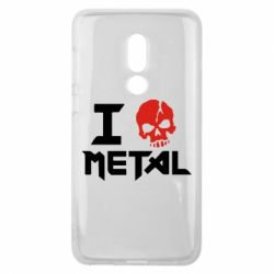 Чехол для Meizu V8 I love metal - FatLine