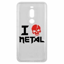 Чехол для Meizu V8 Pro I love metal - FatLine