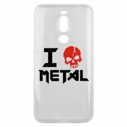 Чехол для Meizu X8 I love metal - FatLine