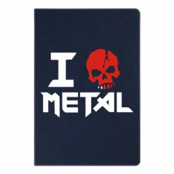Блокнот А5 I love metal - FatLine