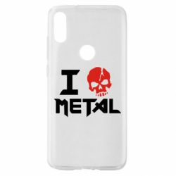Чехол для Xiaomi Mi Play I love metal