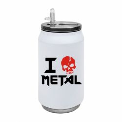Термобанка 350ml I love metal