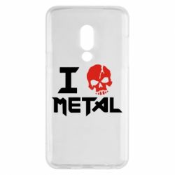 Чехол для Meizu 15 I love metal - FatLine