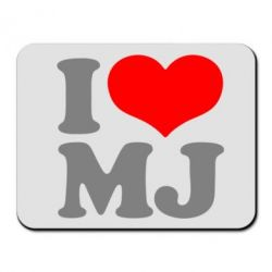 Коврик для мыши I love MJ - FatLine
