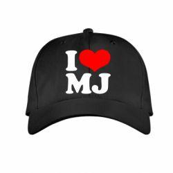 Детская кепка I love MJ
