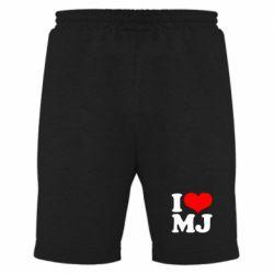 Мужские шорты I love MJ - FatLine