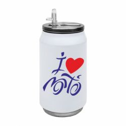 Термобанка 350ml I love MOTO