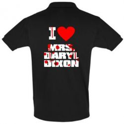 Футболка Поло I love Mrs. Daryl Dixon