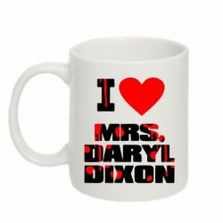 Кружка 320ml I love Mrs. Daryl Dixon - FatLine