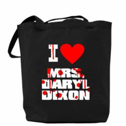 Сумка I love Mrs. Daryl Dixon - FatLine