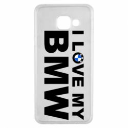 Чохол для Samsung A3 2016 I love my BMW