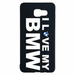 Чохол для Samsung A5 2016 I love my BMW