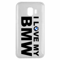 Чохол для Samsung J2 2018 I love my BMW