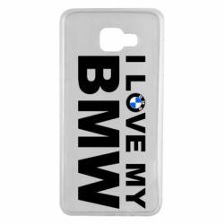 Чохол для Samsung A7 2016 I love my BMW