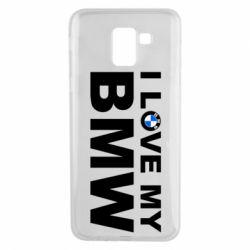 Чохол для Samsung J6 I love my BMW