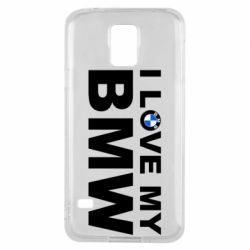 Чохол для Samsung S5 I love my BMW