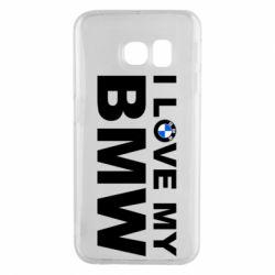 Чохол для Samsung S6 EDGE I love my BMW