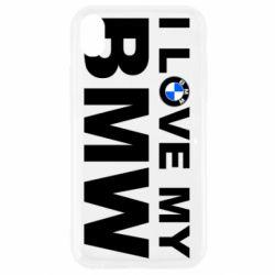 Чохол для iPhone XR I love my BMW