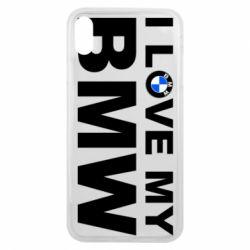 Чохол для iPhone Xs Max I love my BMW