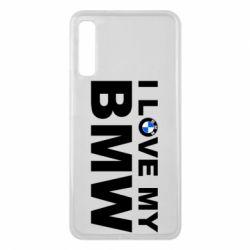 Чохол для Samsung A7 2018 I love my BMW