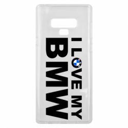 Чохол для Samsung Note 9 I love my BMW