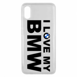 Чохол для Xiaomi Mi8 Pro I love my BMW