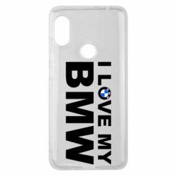 Чохол для Xiaomi Redmi Note Pro 6 I love my BMW