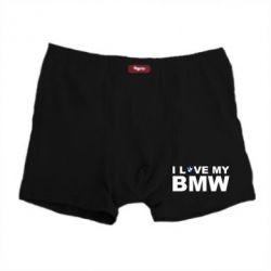 Мужские трусы I love my BMW - FatLine