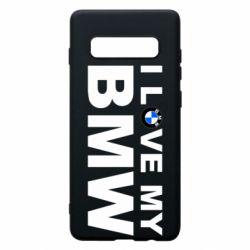 Чохол для Samsung S10+ I love my BMW