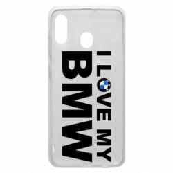 Чохол для Samsung A30 I love my BMW