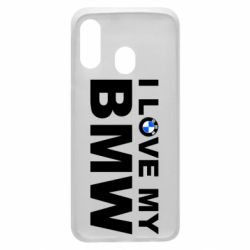 Чохол для Samsung A40 I love my BMW