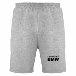 Мужские шорты I love my BMW - FatLine