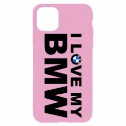 Чохол для iPhone 11 Pro Max I love my BMW