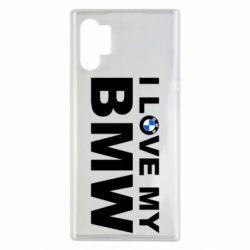 Чохол для Samsung Note 10 Plus I love my BMW