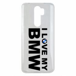 Чохол для Xiaomi Redmi Note 8 Pro I love my BMW