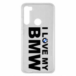 Чохол для Xiaomi Redmi Note 8 I love my BMW