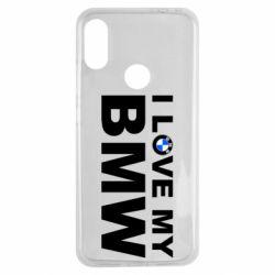 Чохол для Xiaomi Redmi Note 7 I love my BMW