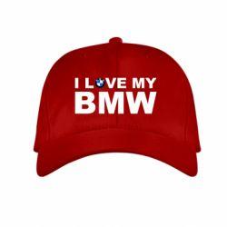 Детская кепка I love my BMW - FatLine
