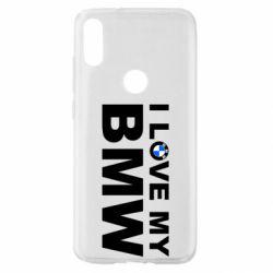 Чохол для Xiaomi Mi Play I love my BMW