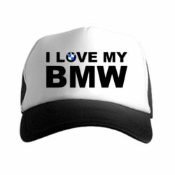 Кепка-тракер I love my BMW - FatLine