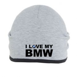 Шапка I love my BMW - FatLine