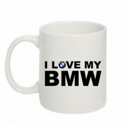 Кружка 320ml I love my BMW - FatLine