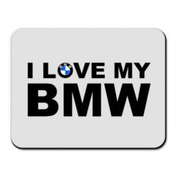 Коврик для мыши I love my BMW - FatLine