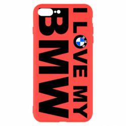 Чохол для iPhone 8 Plus I love my BMW