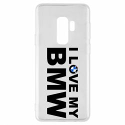 Чохол для Samsung S9+ I love my BMW