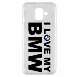 Чохол для Samsung A6 2018 I love my BMW