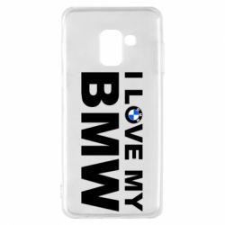 Чохол для Samsung A8 2018 I love my BMW